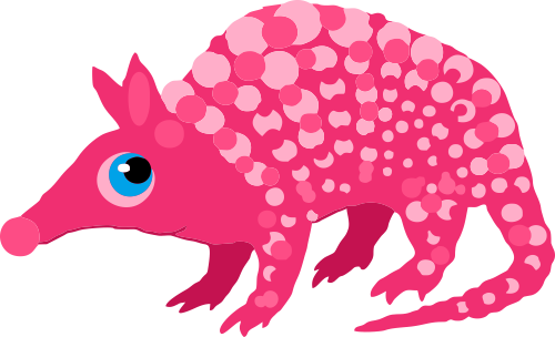 The Pink Armadillo