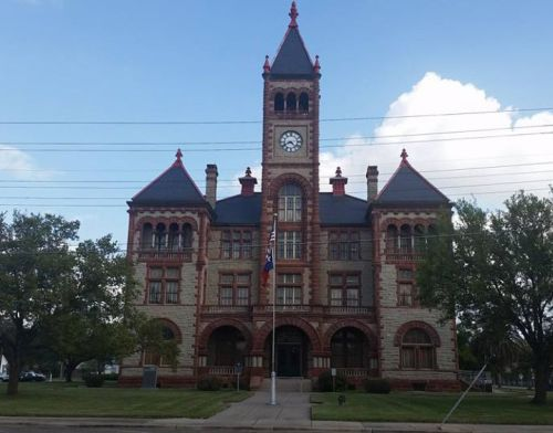 Cuero, Texas, courthouse